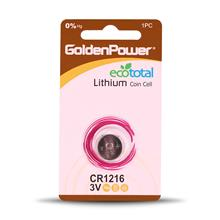 Golden Power CR1216 Coin Cell Battery  Pack of 1